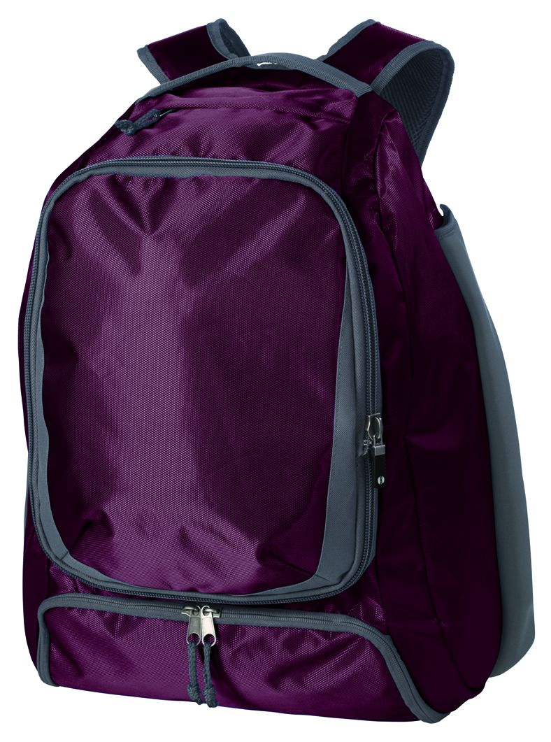 Bat Backpack - Maroon/graphite