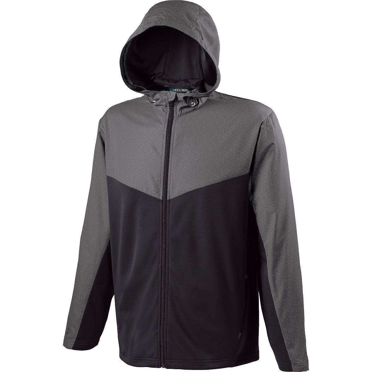 Adult Crossover Jacket - GREY PRINT/BLACK