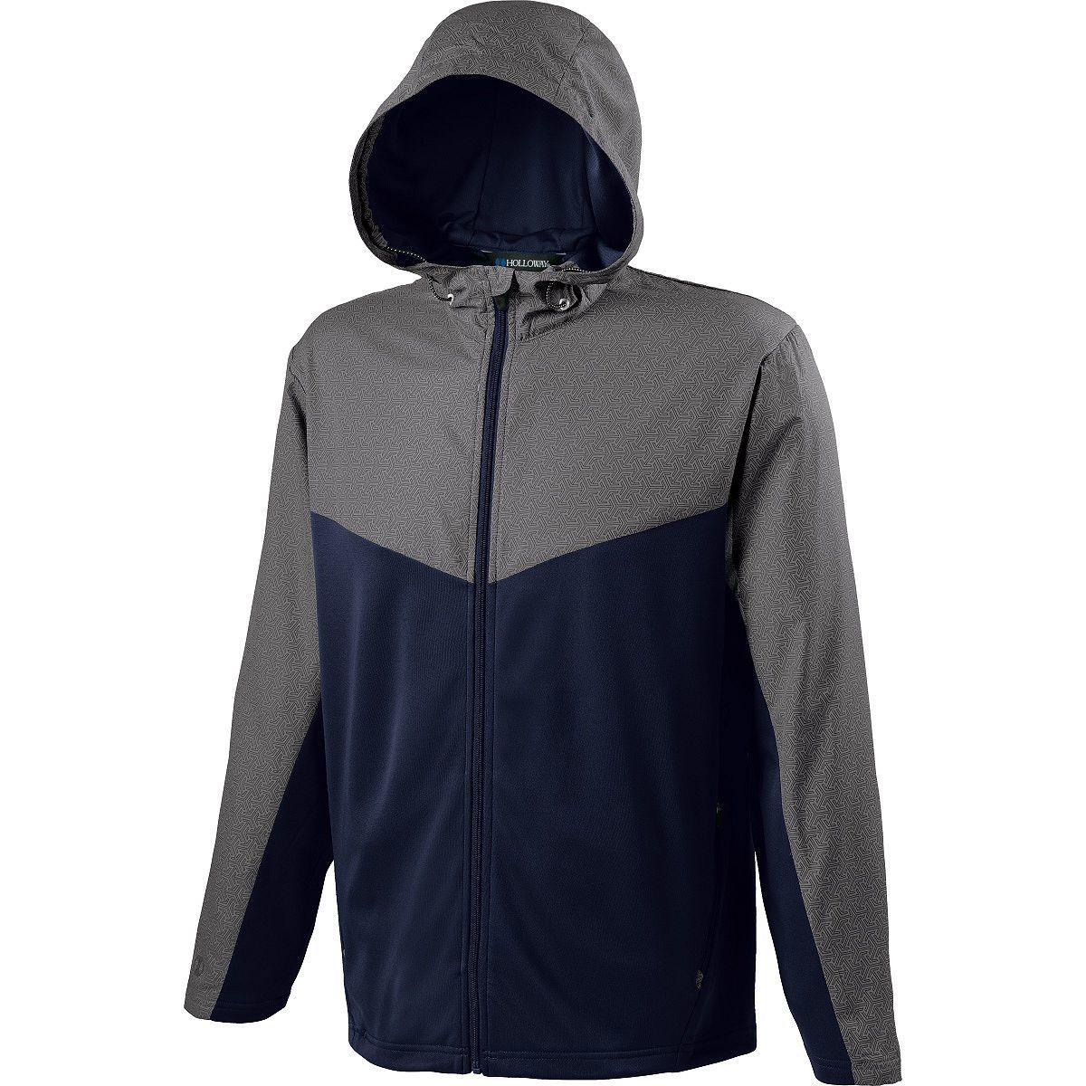 Adult Crossover Jacket - GREY PRINT/NAVY