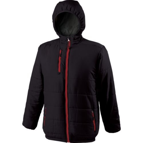 Tropo Jacket - BLACK/SCARLET