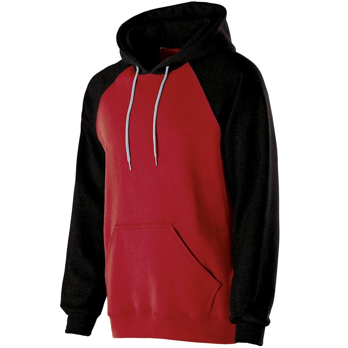 Banner Hoodie - RED/BLACK