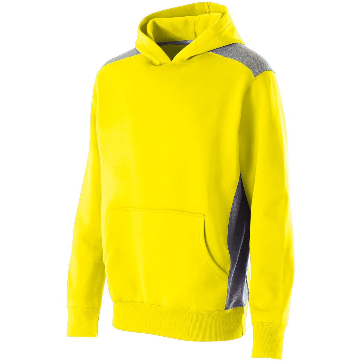 Youth Breakout Hoodie - BRIGHT YELLOW/VINTAGE GREY