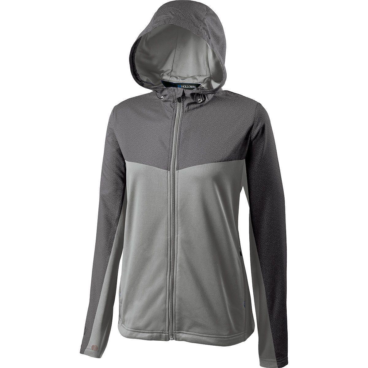 Ladies Crossover Jacket - GREY PRINT/GREY