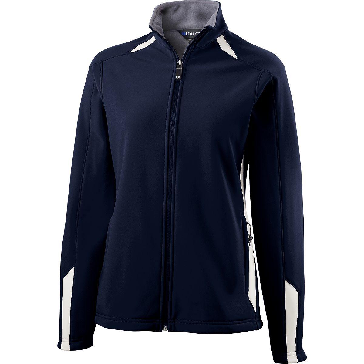 Ladies Vortex Jacket - NAVY/WHITE