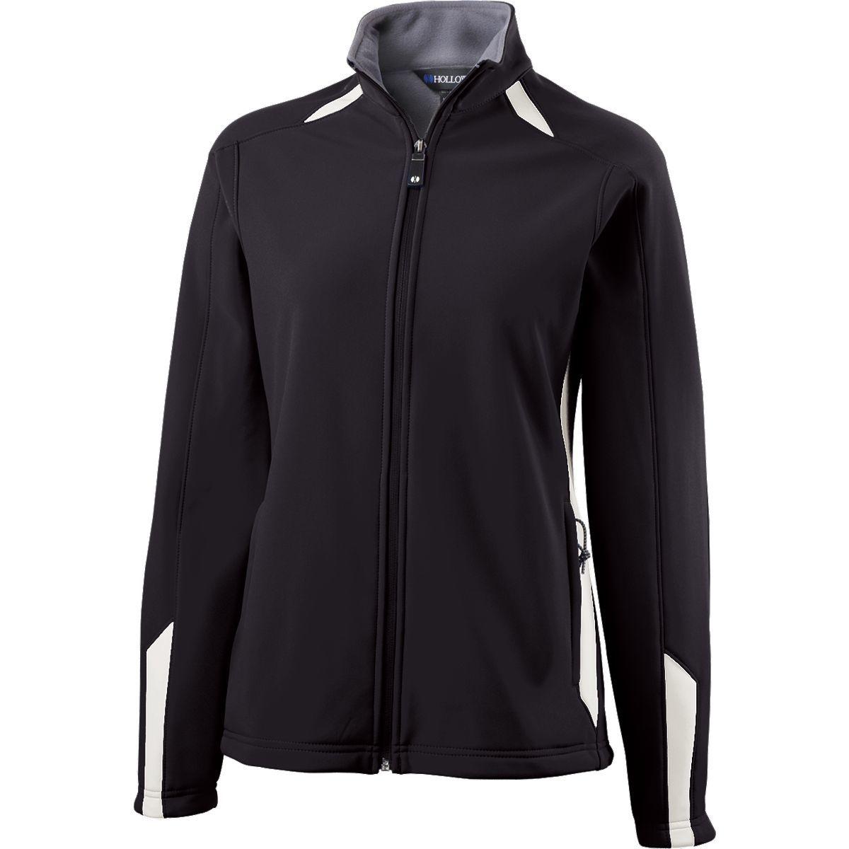 Ladies Vortex Jacket  - BLACK/WHITE
