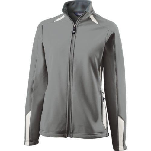 Ladies Vortex Jacket  - GREY/WHITE