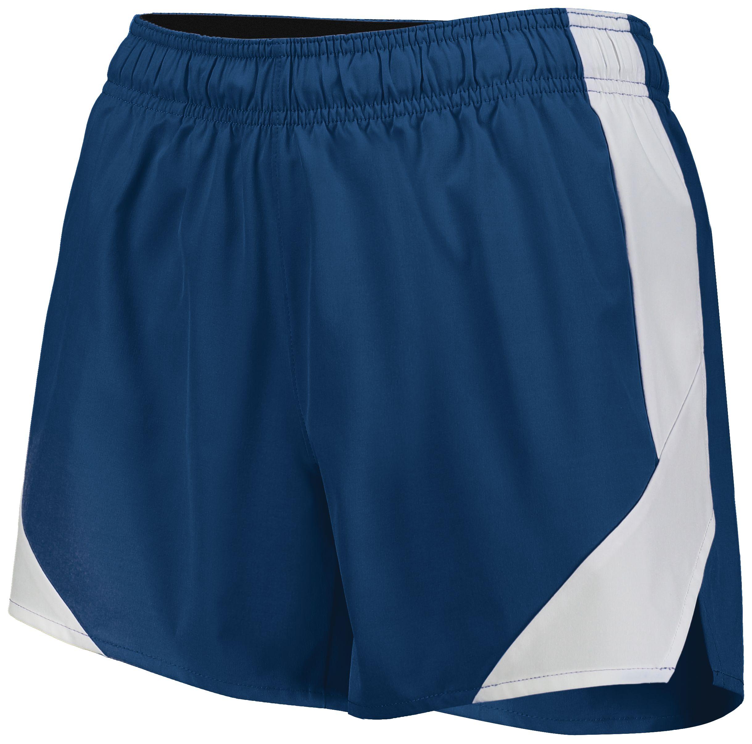 Ladies Olympus Shorts - NAVY/WHITE