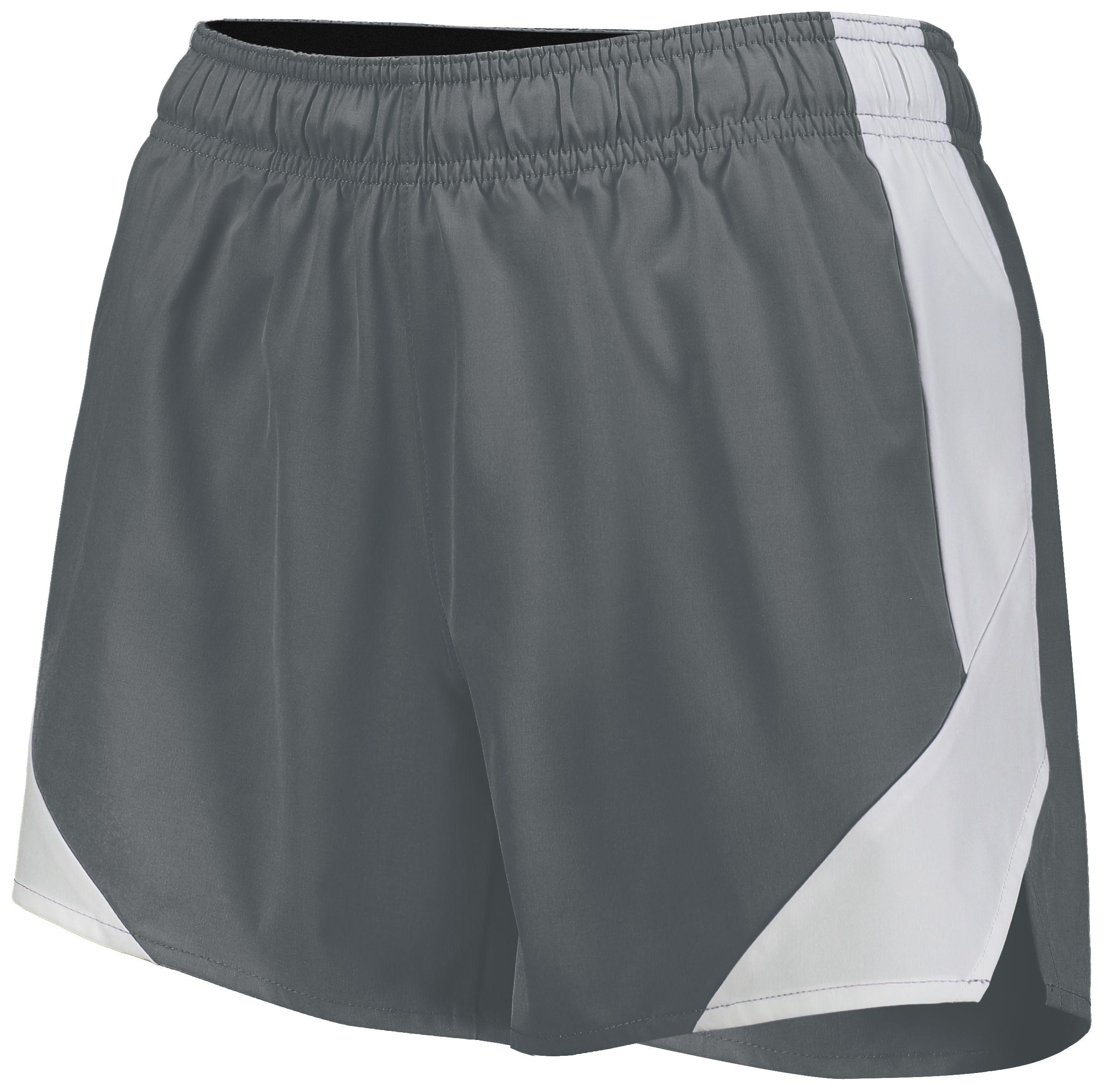 Ladies Olympus Shorts - GRAPHITE/WHITE