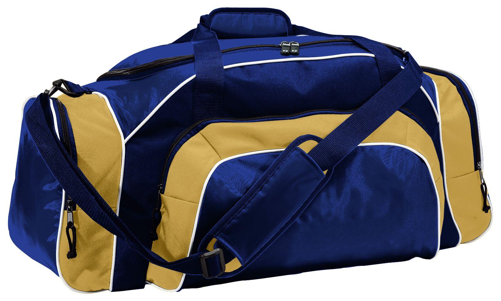 Tournament Duffel Bag - NAVY/VEGAS GOLD/WHITE