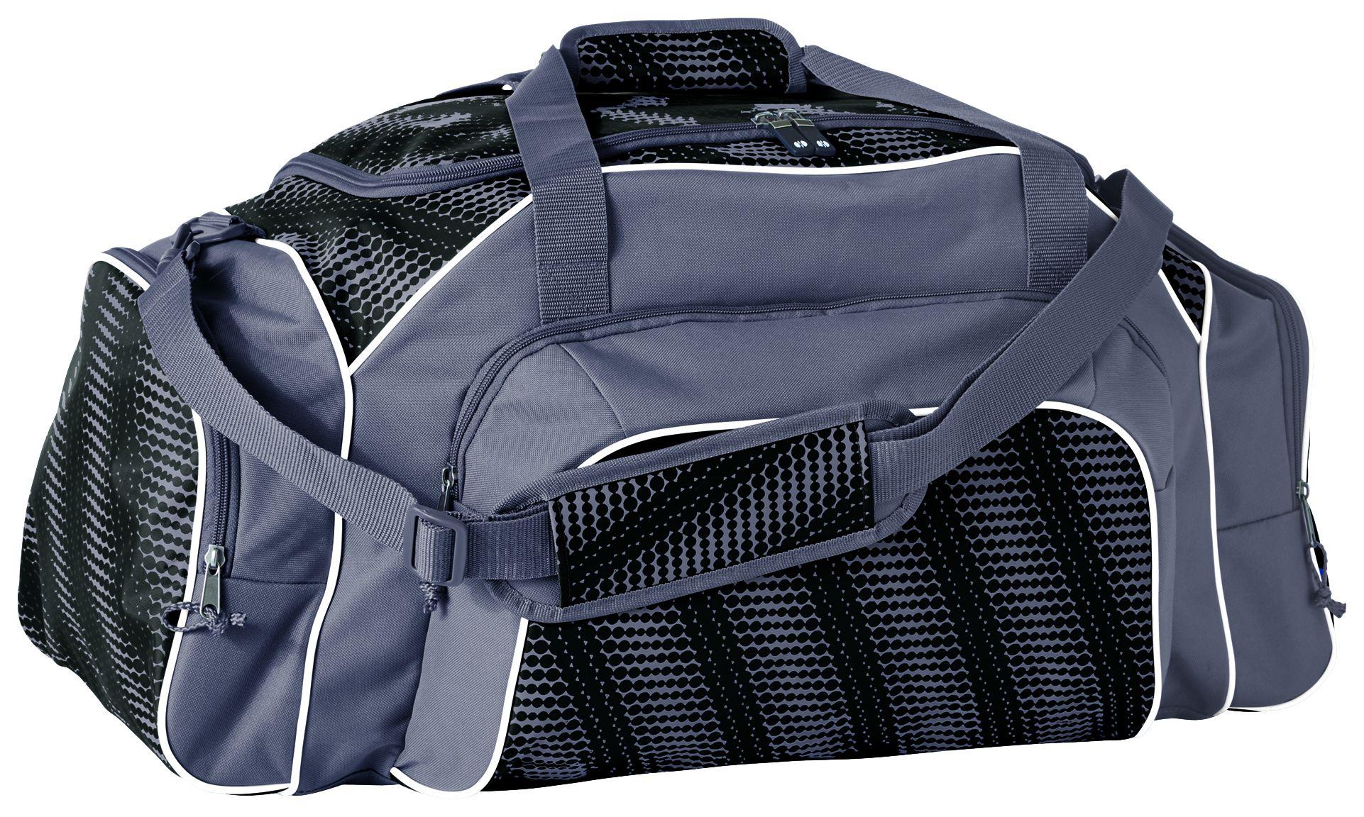 Tournament Duffel Bag - BLACK/GRAPHITE/WHITE