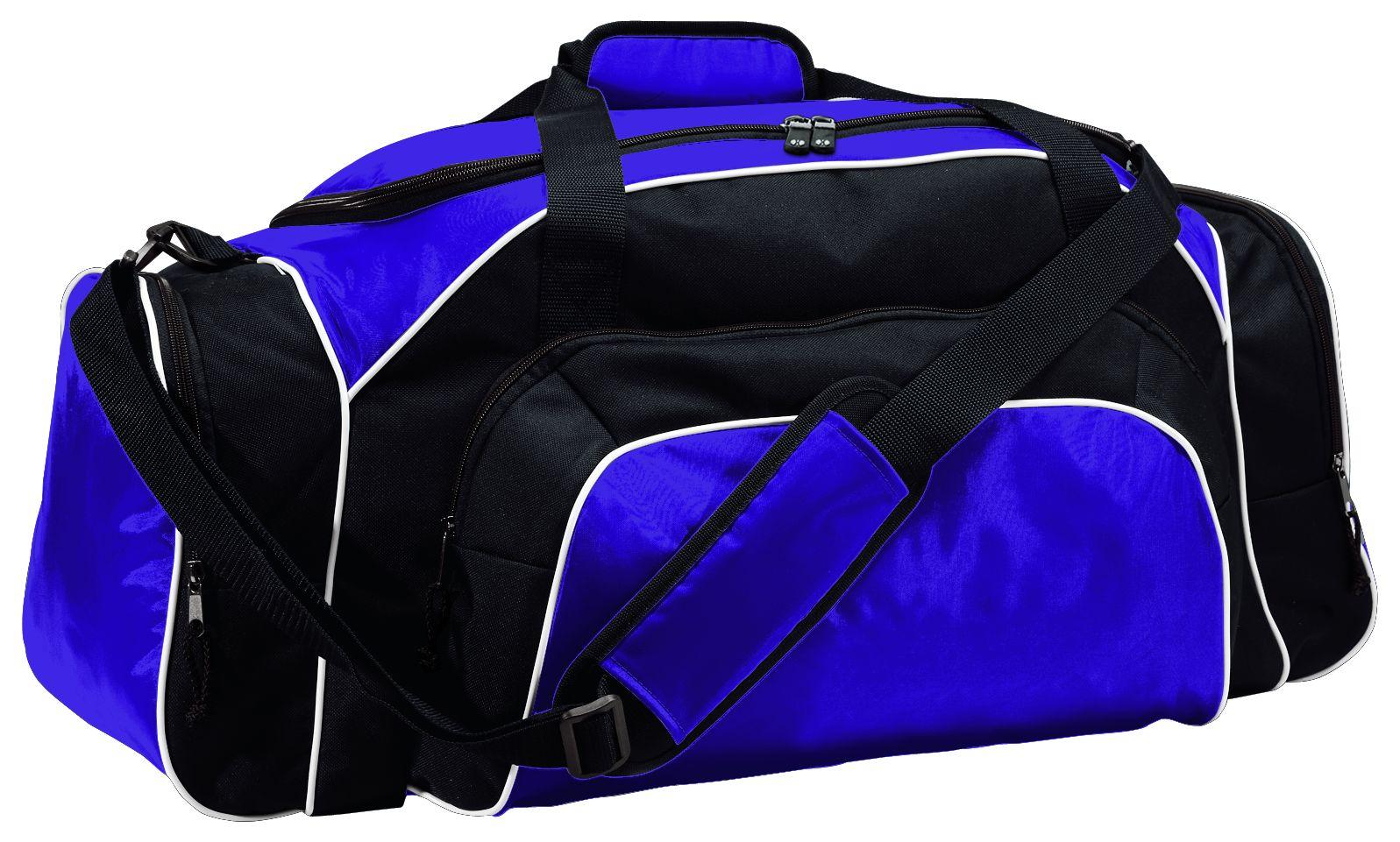 Tournament Duffel Bag - PURPLE/BLACK/WHITE