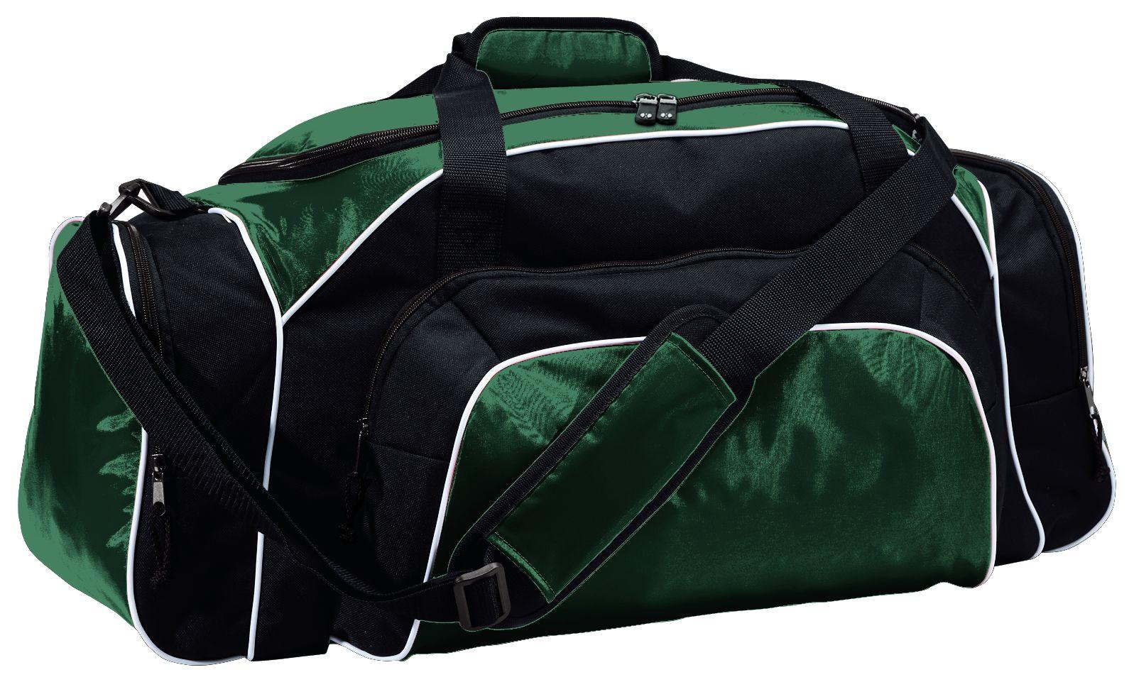 Tournament Duffel Bag - DARK GREEN/BLACK/WHITE