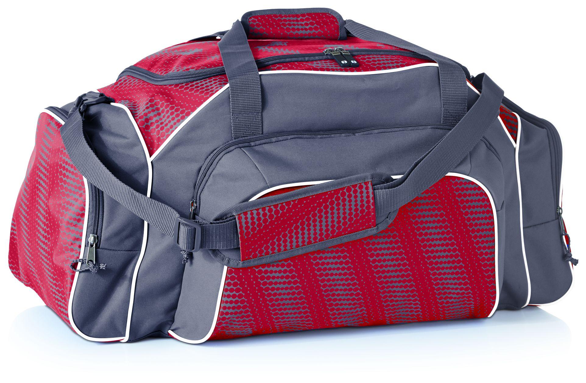 Tournament Duffel Bag - SCARLET/GRAPHITE/WHITE