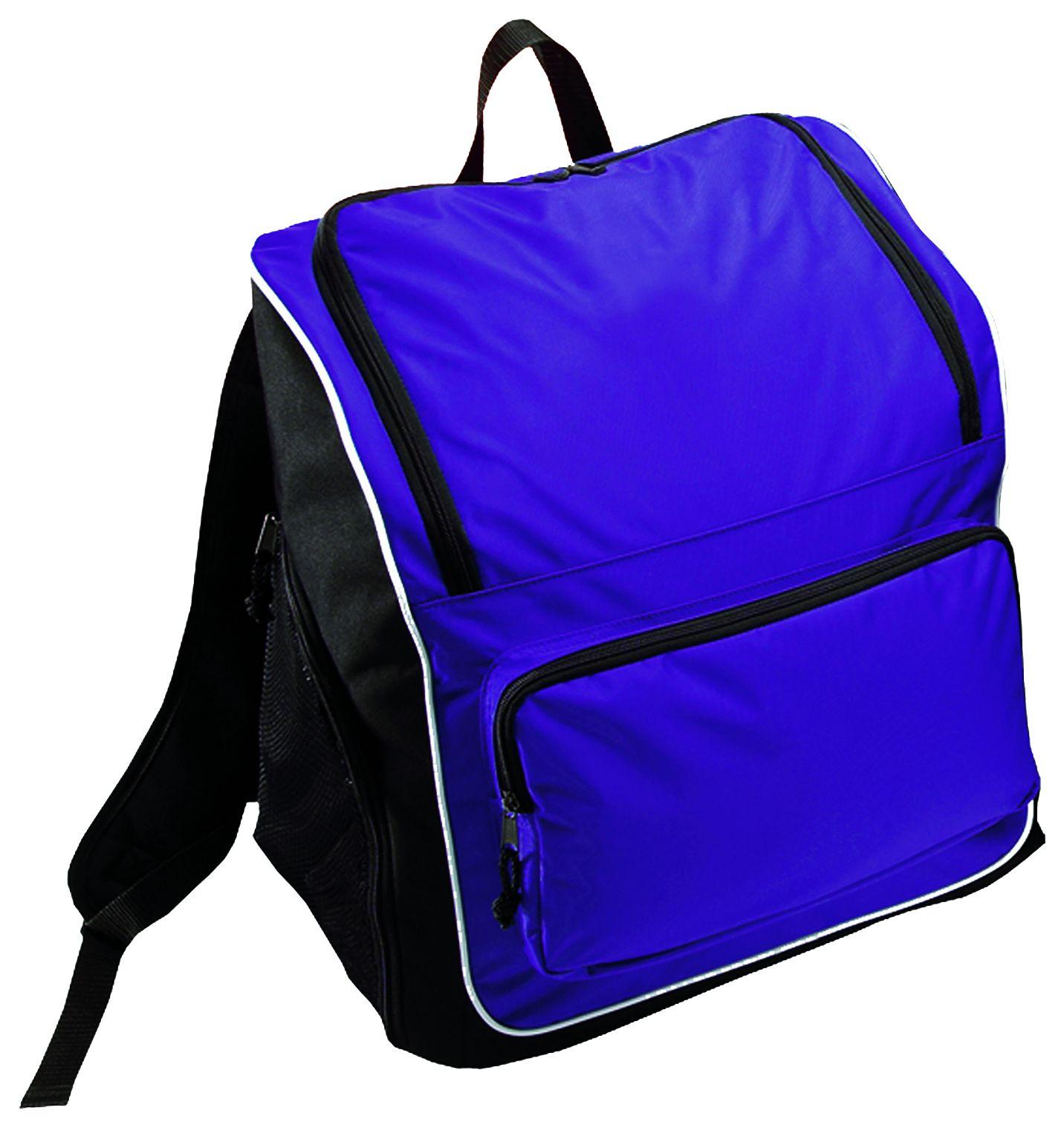 Sportsman Backpack Bag - PURPLE/BLACK/WHITE