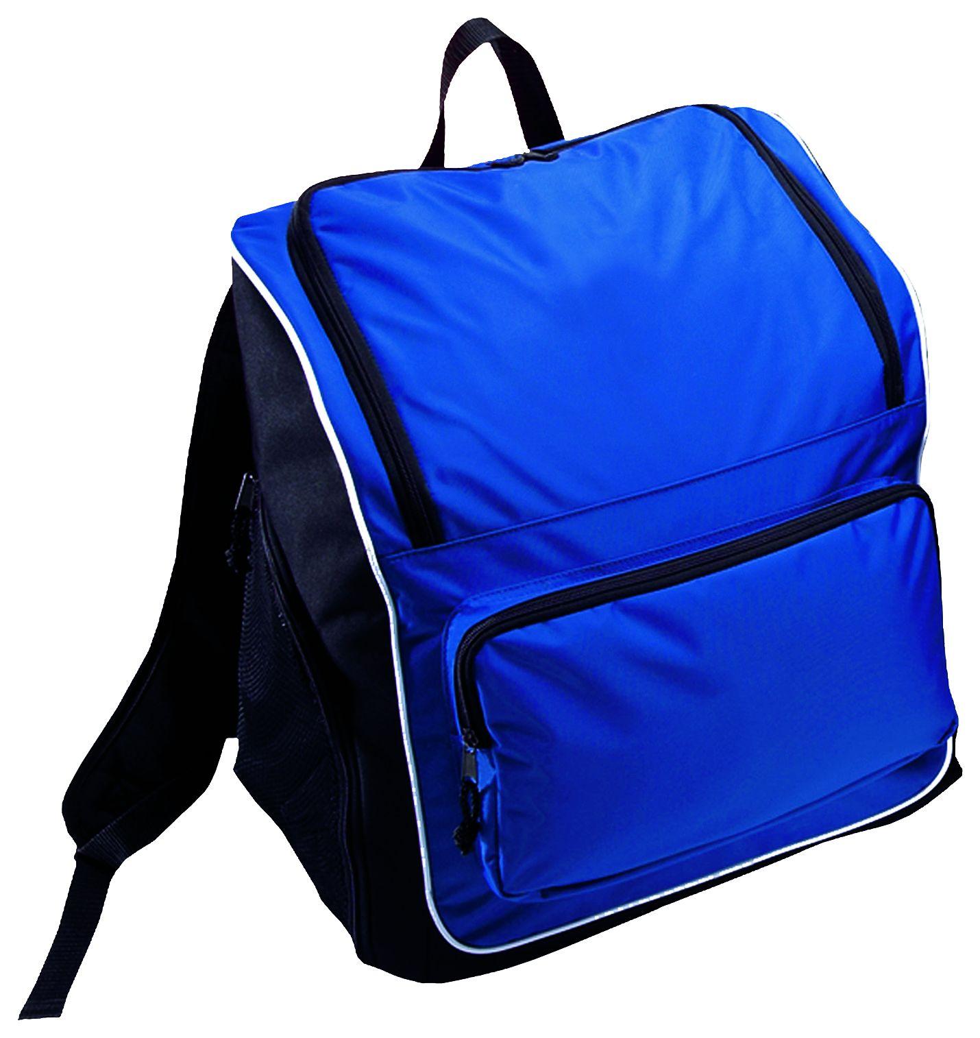 Sportsman Backpack Bag - ROYAL/BLACK/WHITE