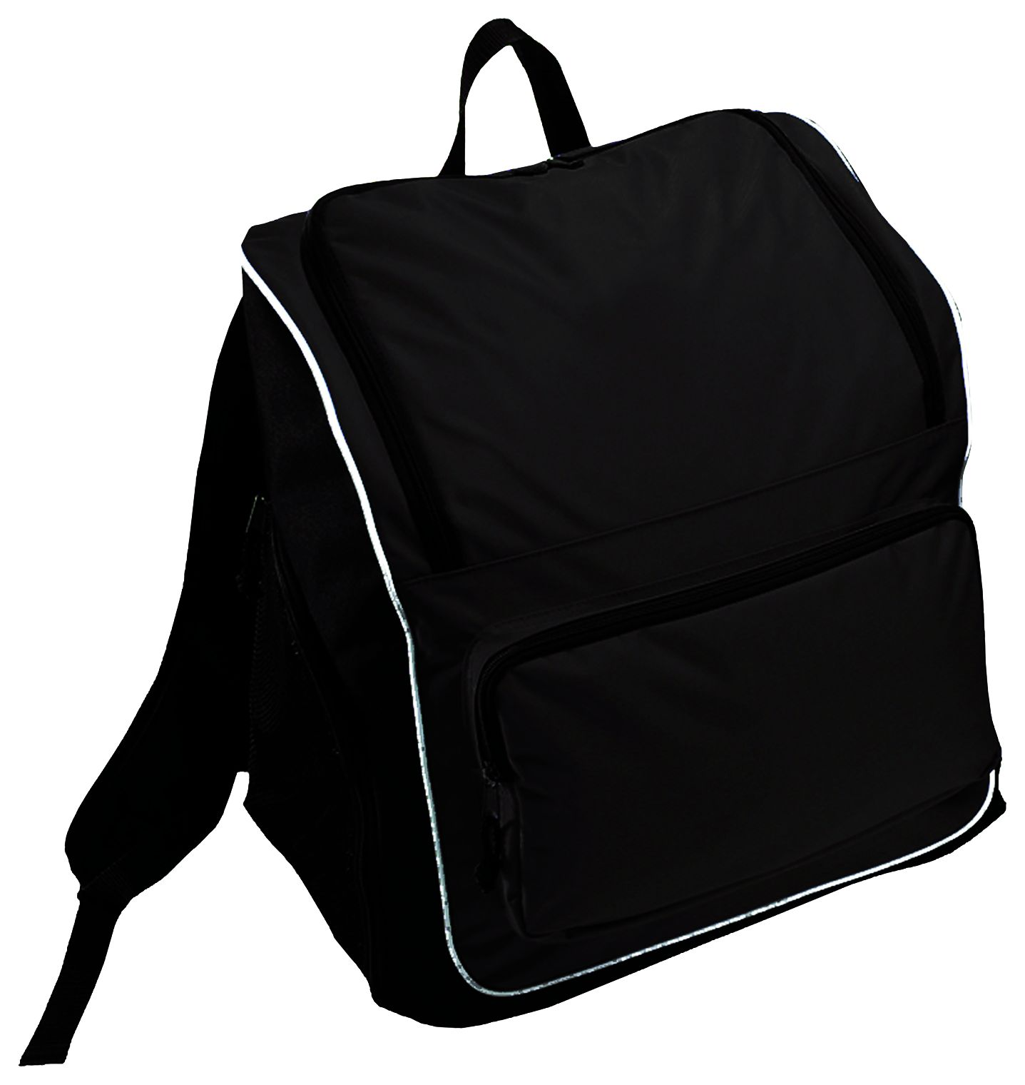 Sportsman Backpack Bag - BLACK/BLACK/WHITE