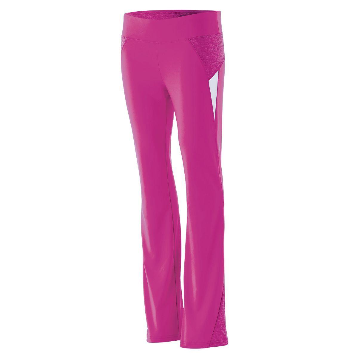 Girls Tumble Pant - POWER PINK/PINK HEATHER/WHITE