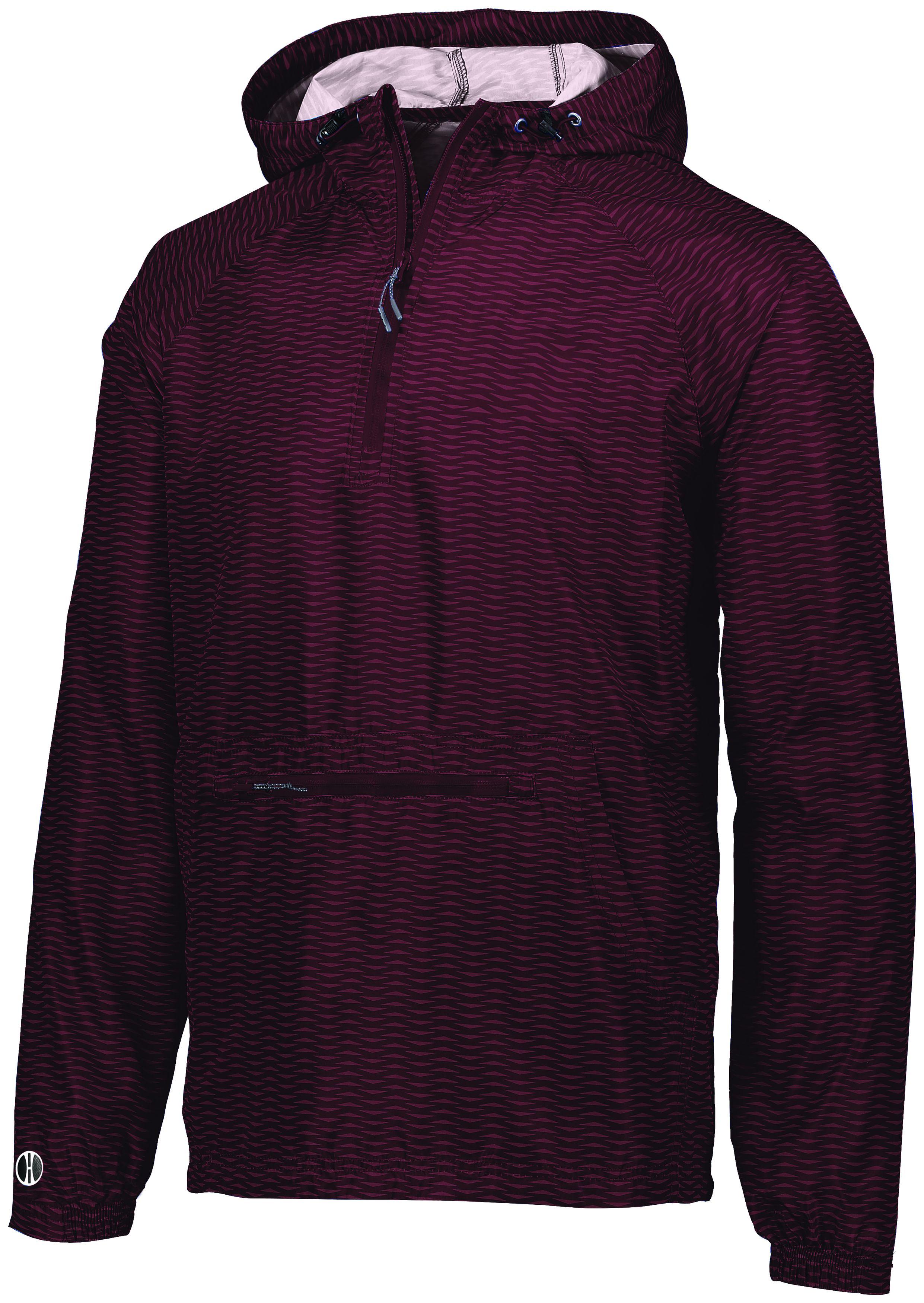 Range Packable Pullover - MAROON