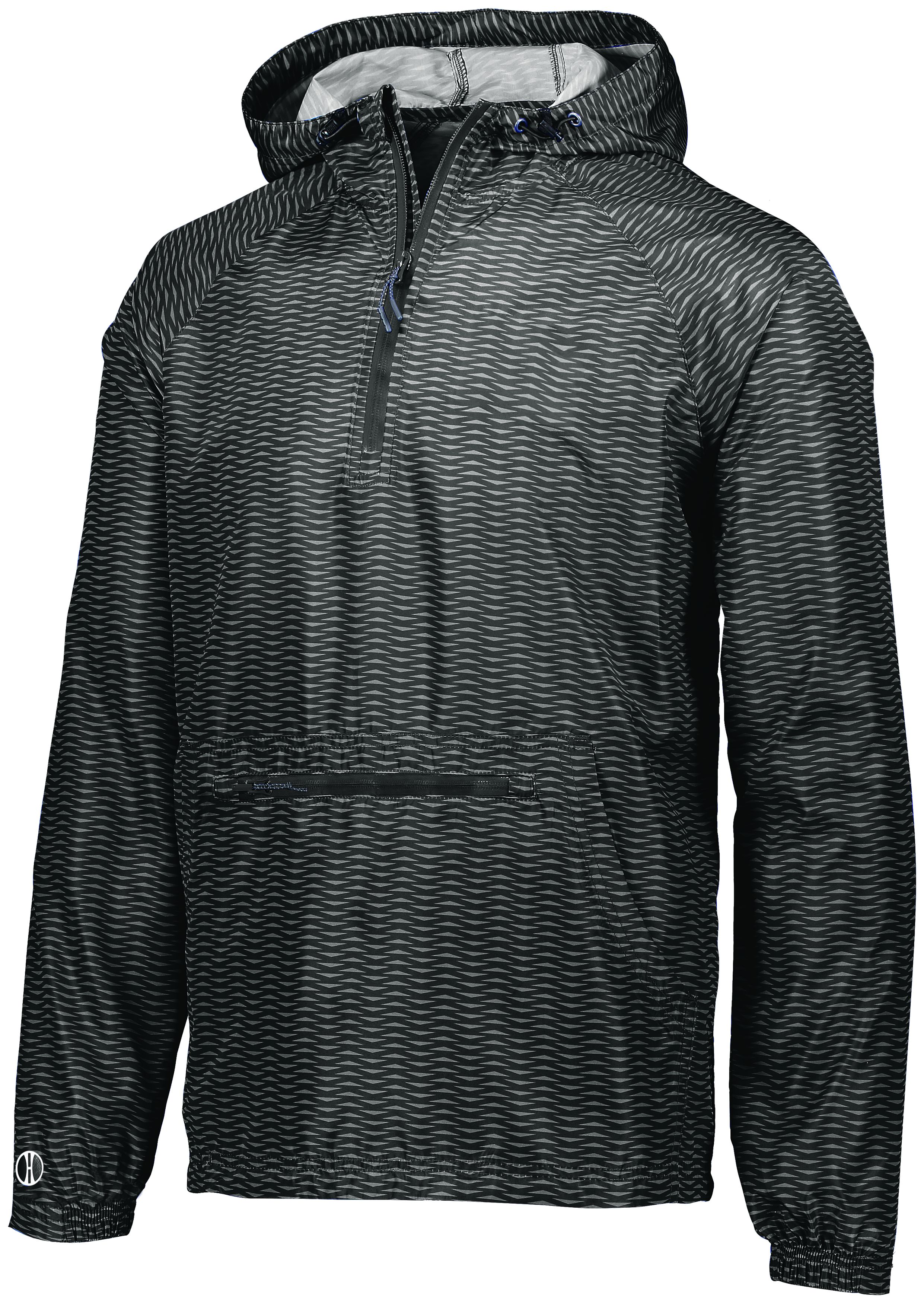 Range Packable Pullover - BLACK