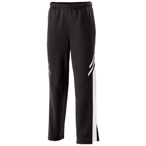Youth Flux Straight Leg Pant - Black Heather/white/white