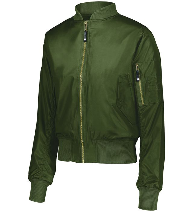 Ladies Flight Bomber Jacket