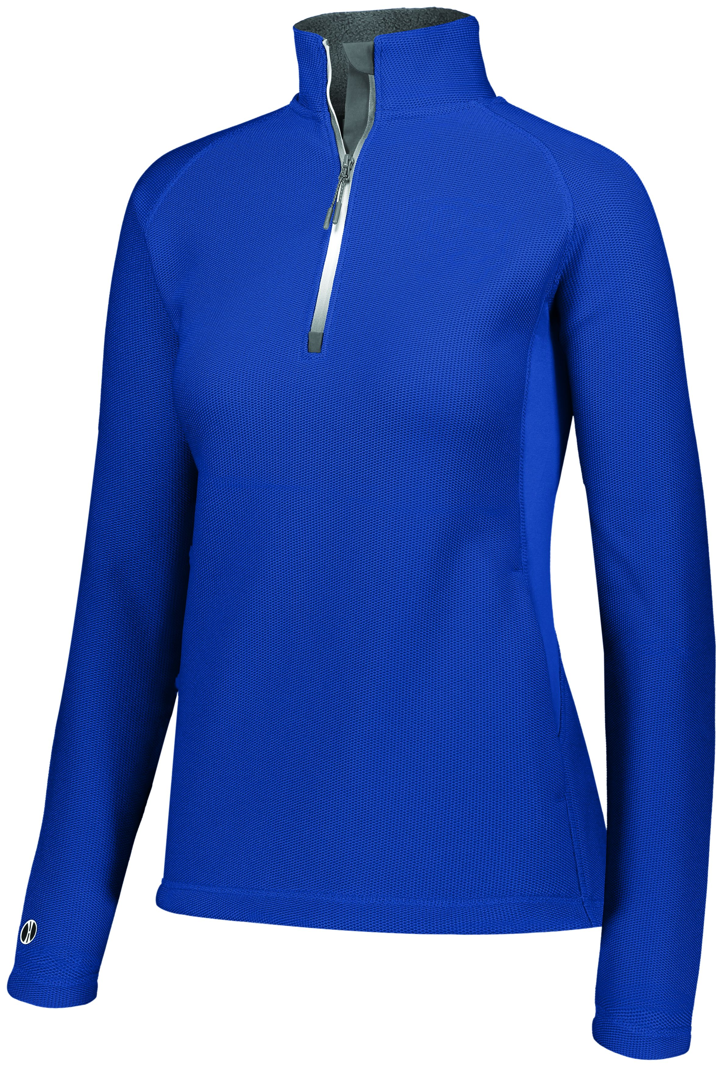 Ladies Invert 1/2 Zip Pullover - ROYAL