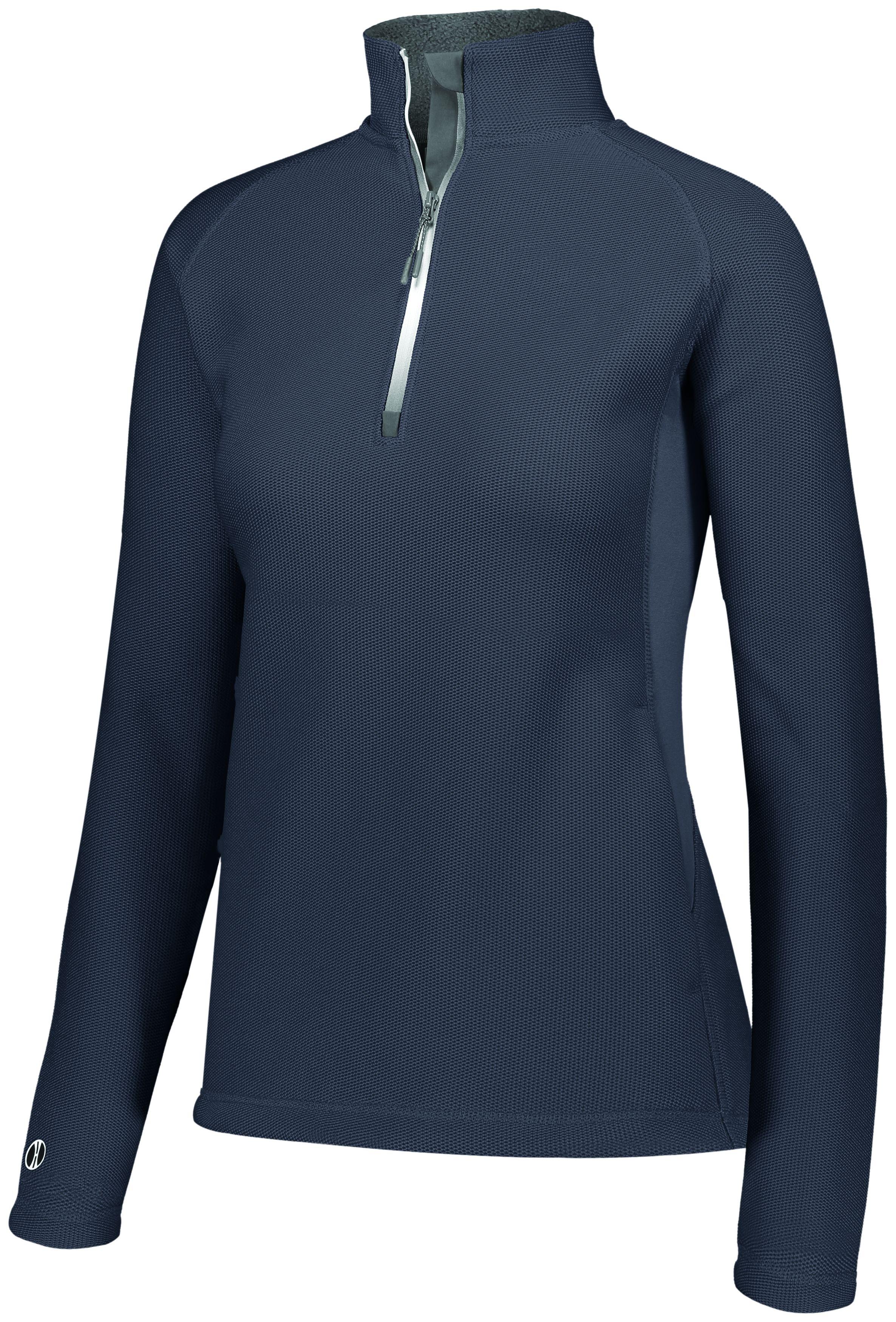 Ladies Invert 1/2 Zip Pullover - CARBON