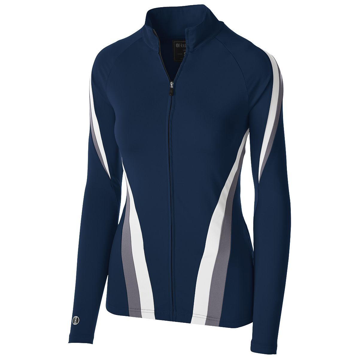 Ladies Aerial Jacket - Navy/graphite/white