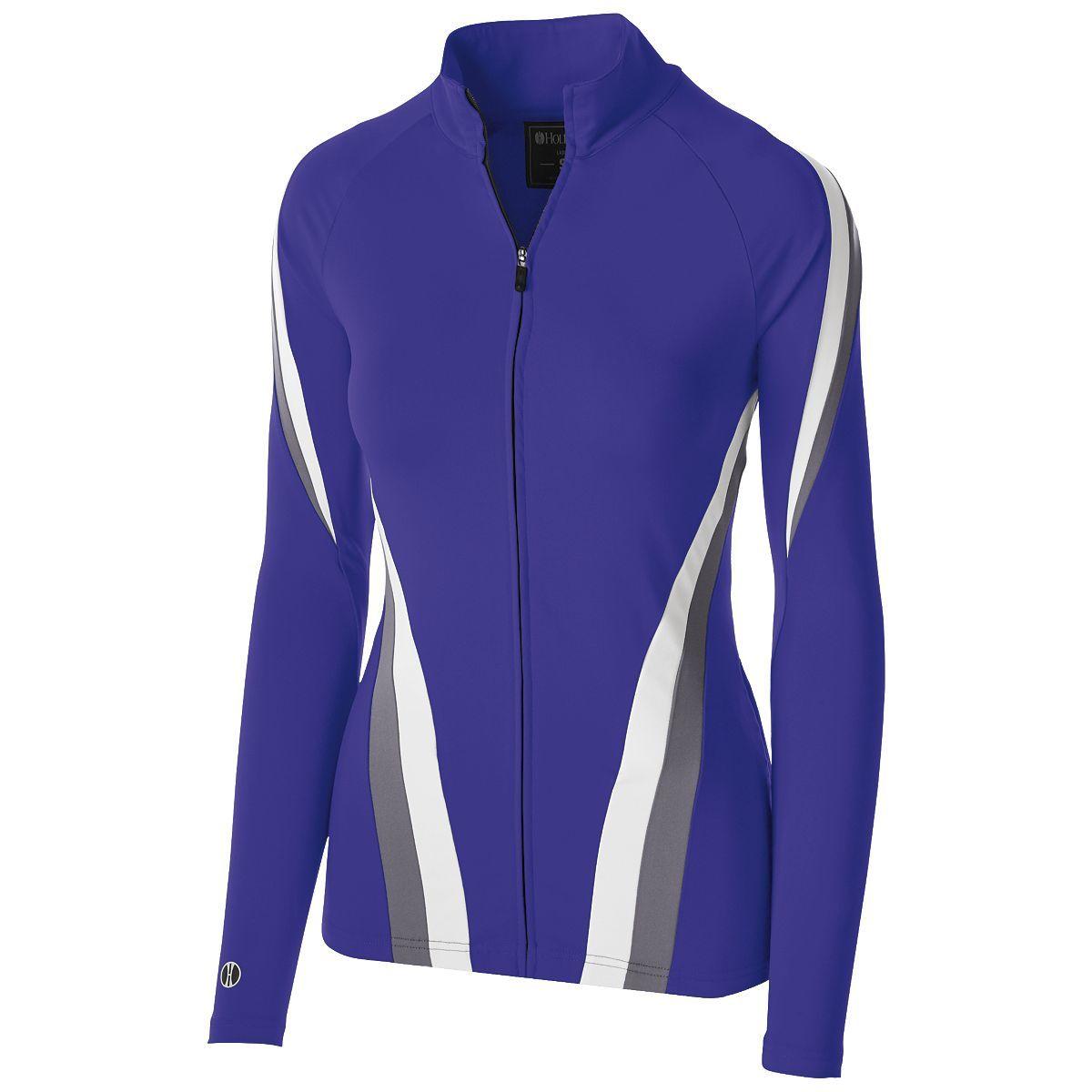 Ladies Aerial Jacket - Purple/graphite/white