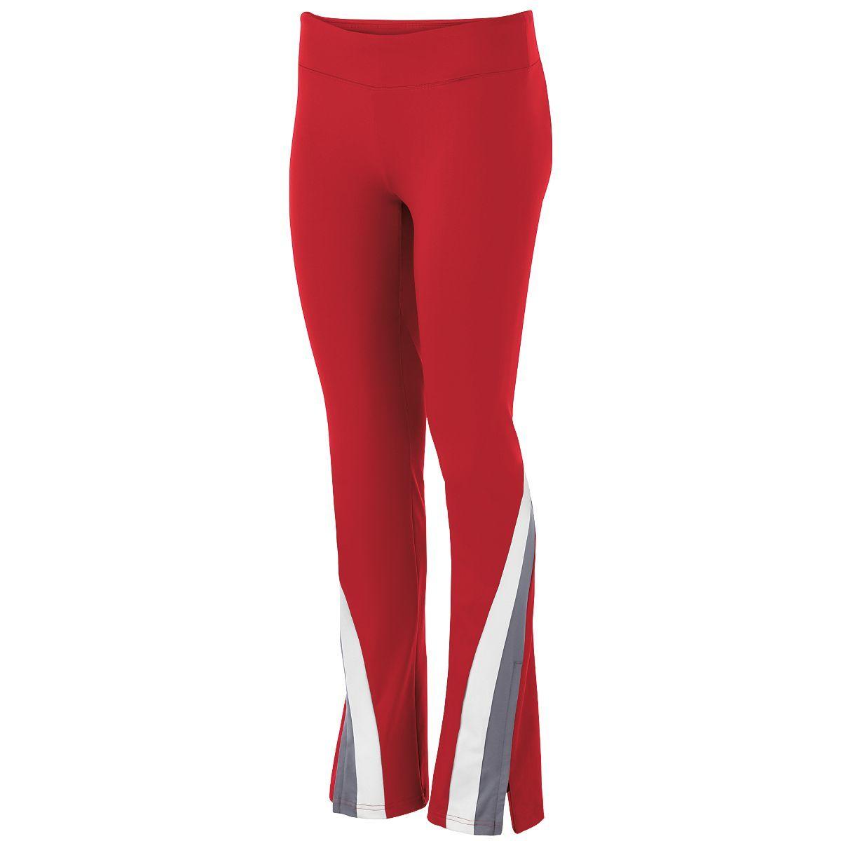Ladies Aerial Pant - Scarlet/graphite/white