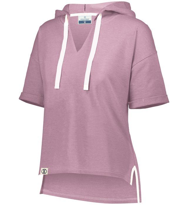 Ladies Sophomore Short Sleeve Hoodie
