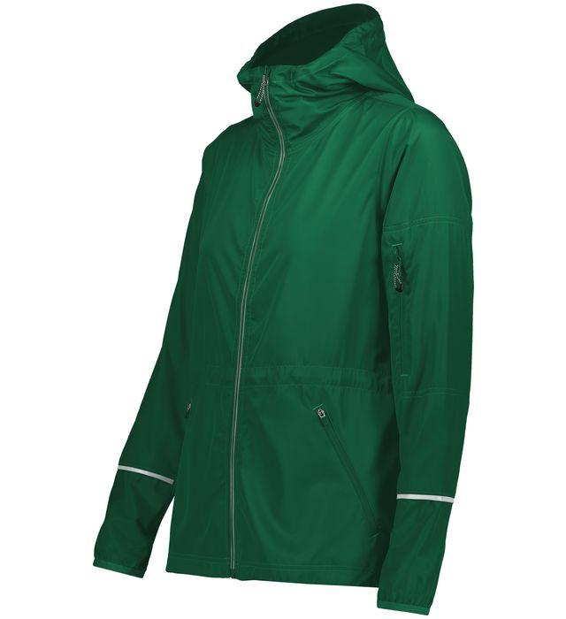 Ladies Packable Full Zip Jacket