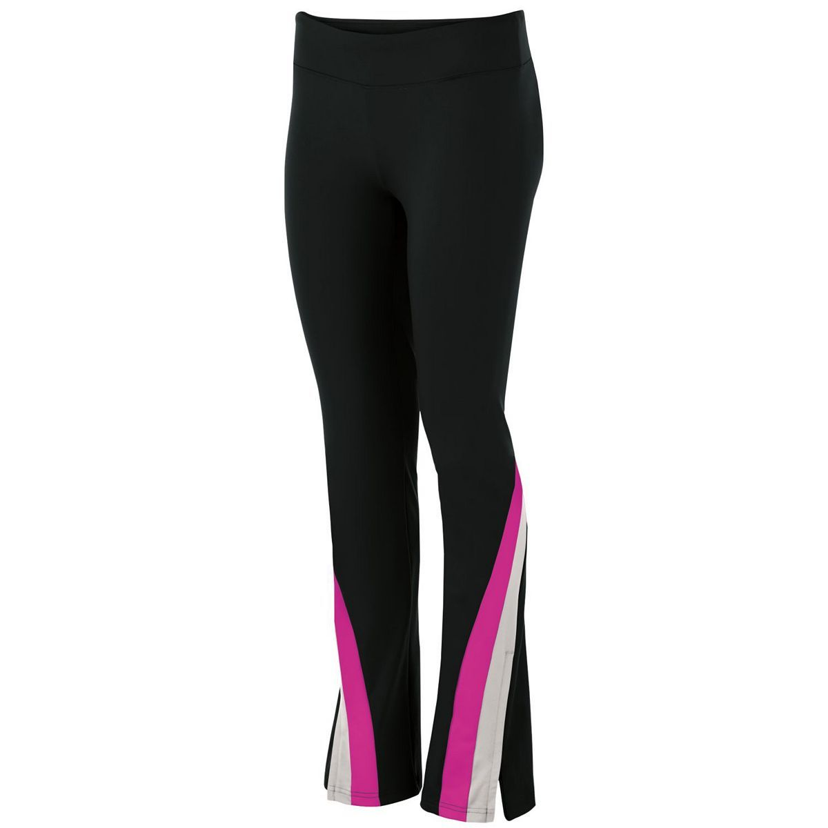 Girls Aerial Pant - Black/silver/power Pink