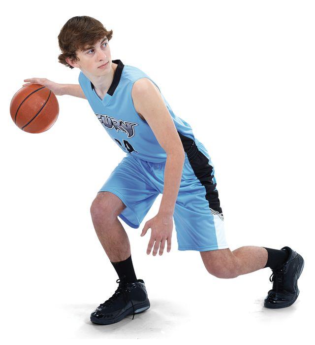 Freestyle Sublimated Lightweight Longer Length Basketball Shorts