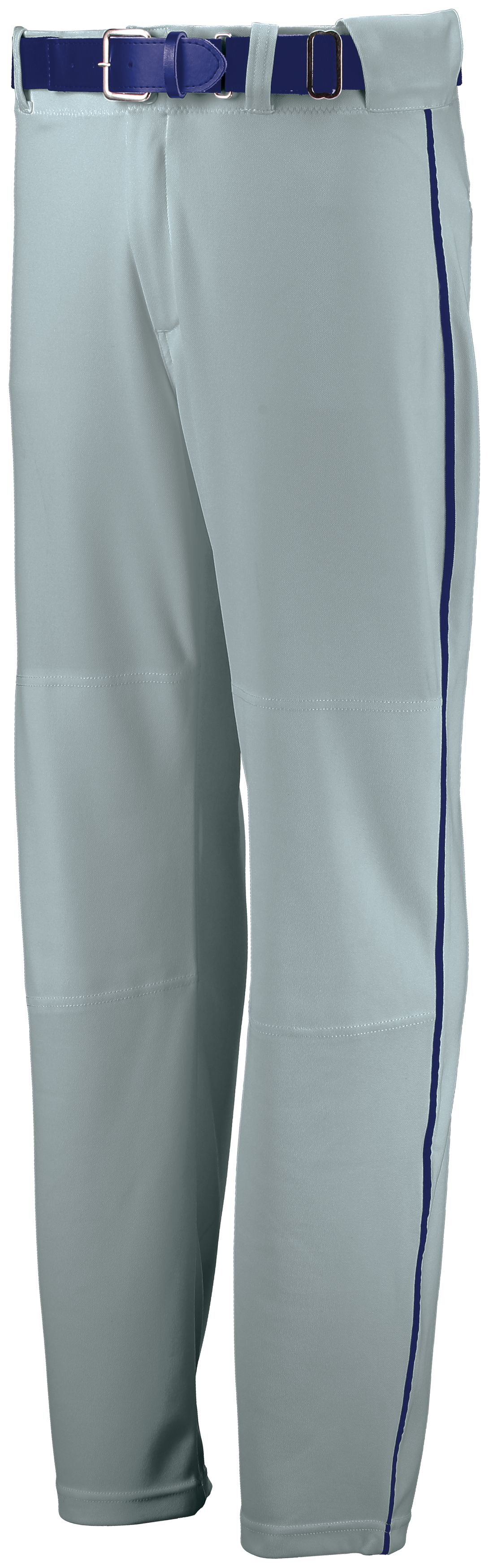 Youth Open Bottom Piped Pant - Baseball Grey/royal