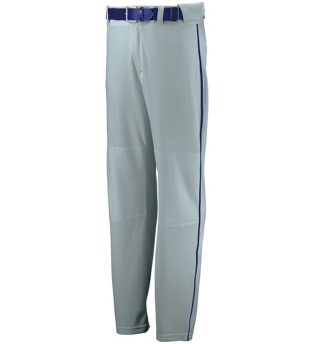 Youth Open Bottom Piped Baseball Pant