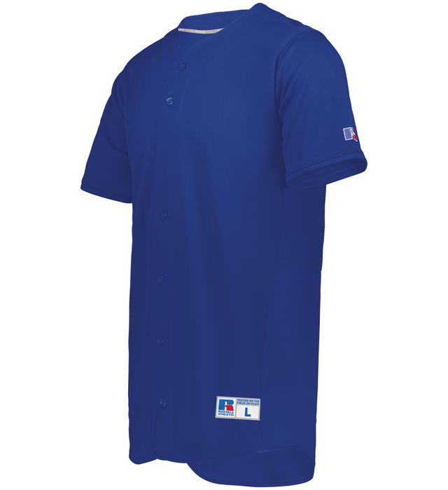 Five Tool Full-Button Front Baseball Jersey