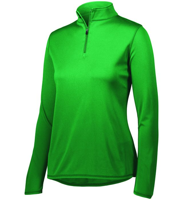 Ladies Attain Wicking 1/4 Zip Pullover