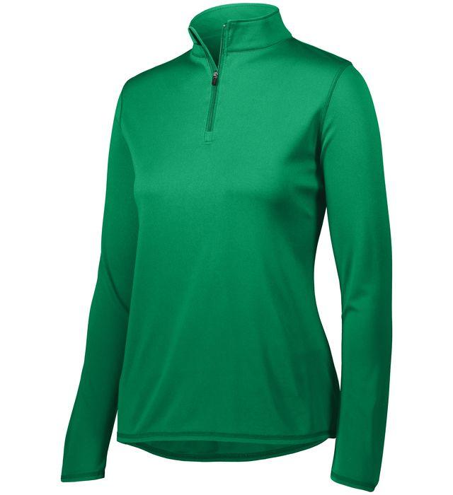 Ladies Attain Wicking 1/4 Zip Pullover