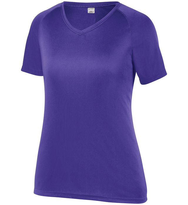 Ladies Attain Raglan Sleeve Wicking Tee