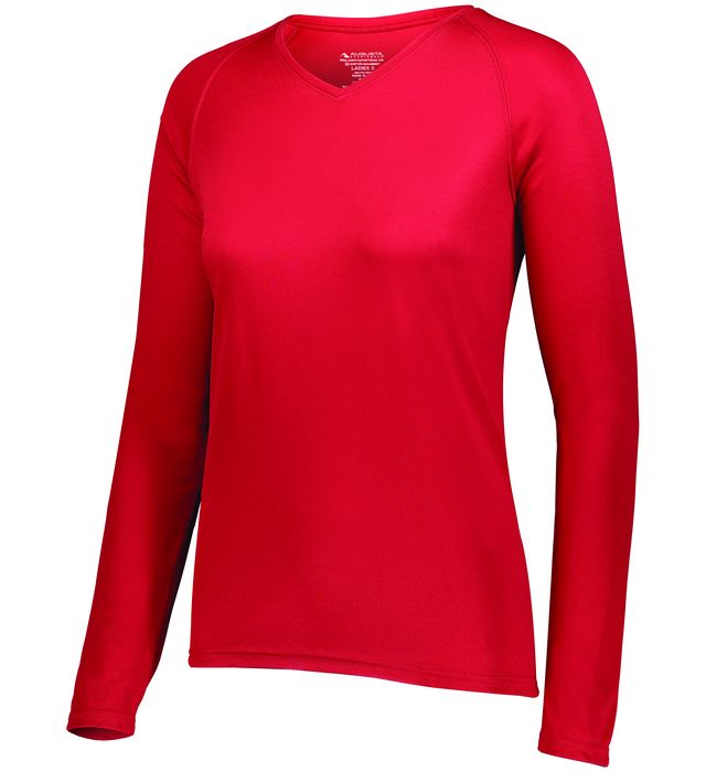 Ladies Attain Wicking Long Sleeve Tee