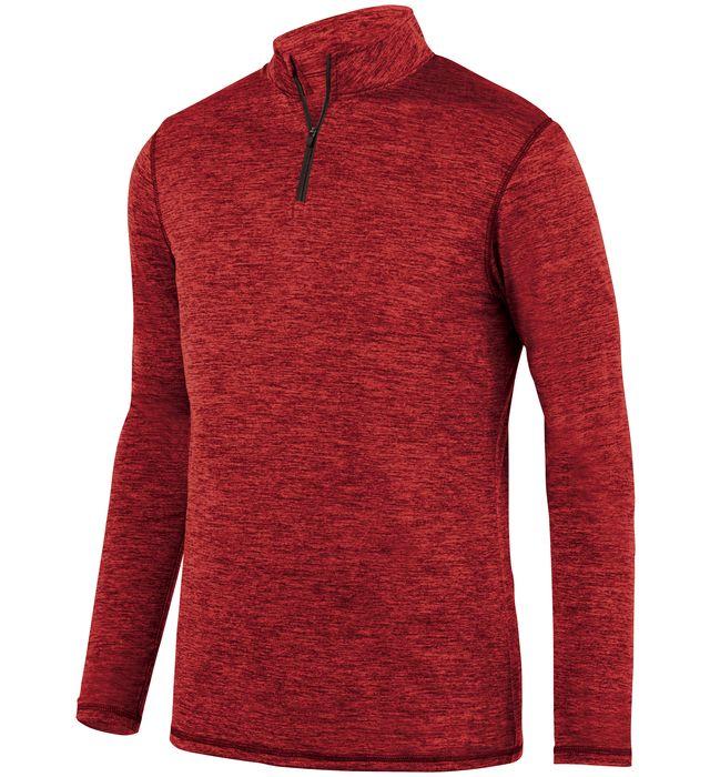 Intensify Black Heather 1/4 Zip Pullover