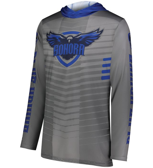 Freestyle Sublimated Long Sleeve Hoodie