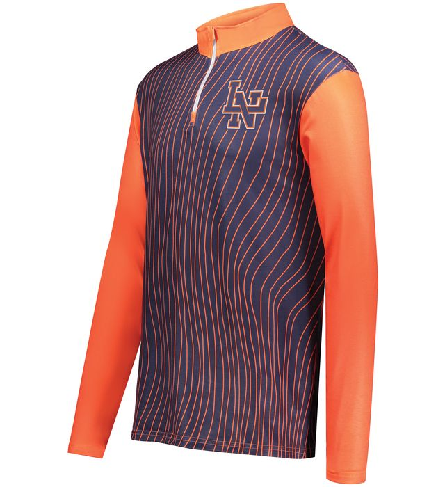 FreeStyle Sublimated Cotton-Touch Poly 1/4 Zip Pullover