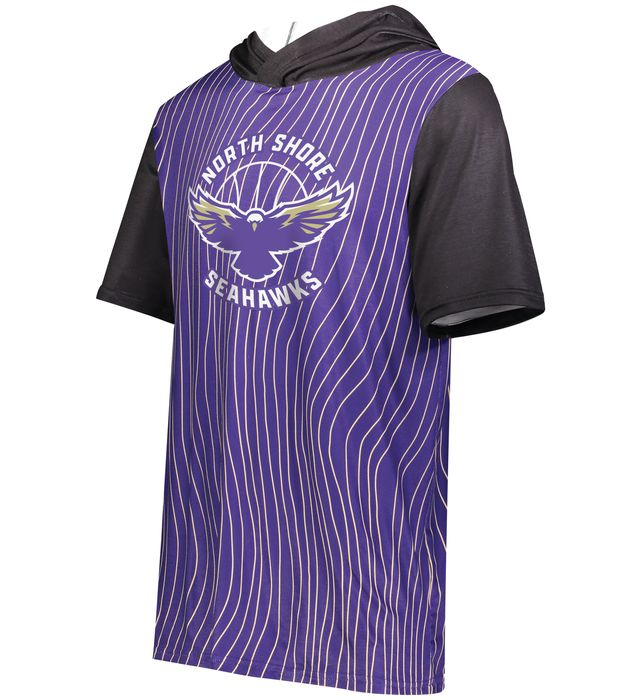 Freestyle Sublimated Cotton-Touch Poly Short Sleeve Hoodie