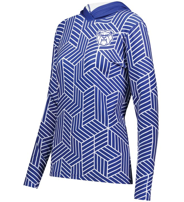 Ladies FreeStyle Sublimated Cotton-Touch Poly Hoodie