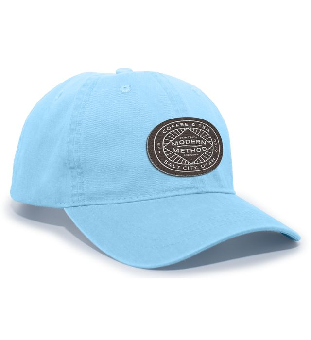 Pigment Dyed Hook-And-Loop Adjustable Cap