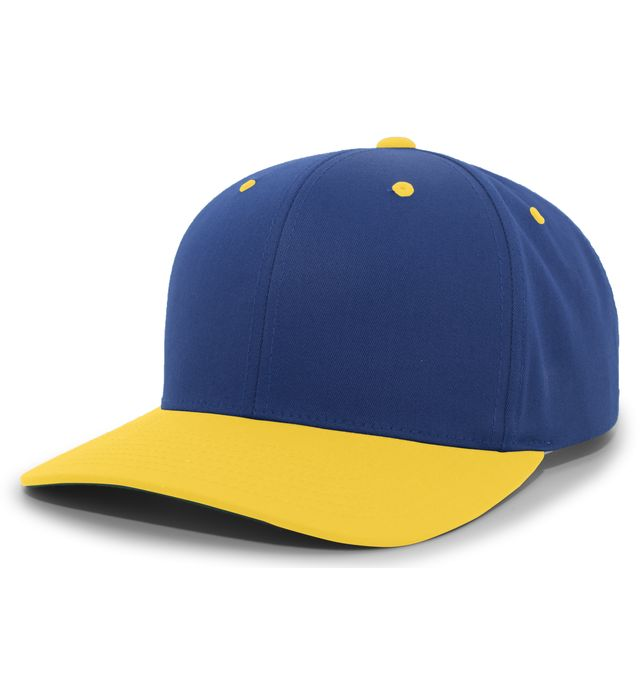 Cotton-Poly Hook-And-Loop Adjustable Cap