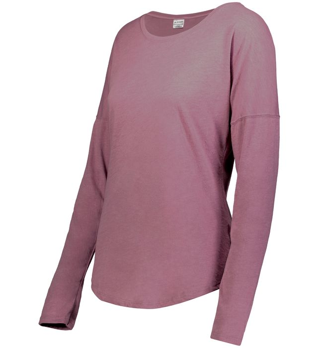 Ladies Lux Tri-Blend Long Sleeve Tee