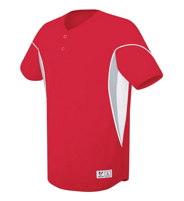 Ellipse Two-Button Jersey